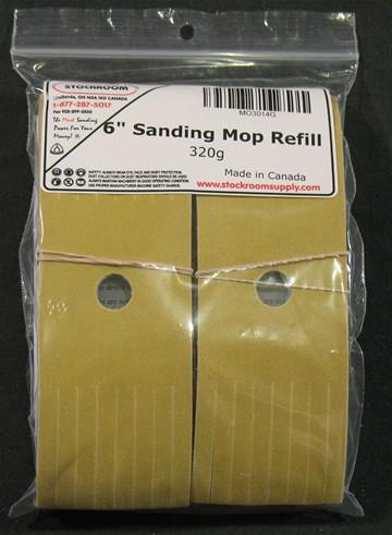 Sanding Mop Refill Strips